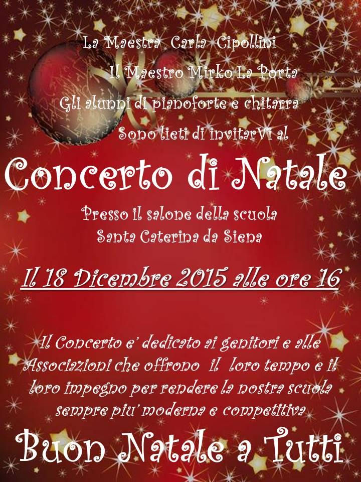 Concerto di Natale 2015